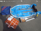 堺市の出張買取にて Achilles ゴムボート をお売り頂きました