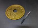 大阪府吹田市にて珍しい品物「巨大な5円玉 オブジェコイン」をお買取りさせて頂きました!リサイクルマート京都松井山店です!
