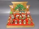 リサイクルショップ リサイクルマート堺 三国ケ丘店 福田店 大阪府堺市の出張買取 小さな雛人形 木製 ミニチュア レトロ 骨董品をお売り頂きました