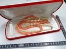 寝屋川市の出張買取にて「 珊瑚 桃色 真珠 ネックレ」をお売りいただきました リサイクルマート松井山手店