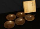 大阪市の出張買取にて 茶托 純銅製 勝彦造 天保通寶 をお売り頂きました