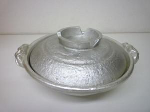 錫 両手鍋1