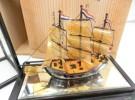 堺市中区の出張買取にて「置物 べっこう帆船」をお売りいただきました リサイクルマート堺三国ヶ丘店