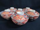 京都市山科区の出張買取にて、古伊万里の「赤絵蓋物茶碗 冨貴長春」をお買取りさせて頂きました!リサイクルマート京都伏見店です。