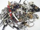 リサイクルマート堺福田店 大阪府河内長野市の出張買取にて ジャンク時計 大量 をお売り頂きました