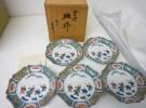 京田辺市の出張買取にて「九谷焼 青郊窯 椿に唐子図 中皿揃 青手九谷」をお売りいただきました リサイクルマート松井山手店